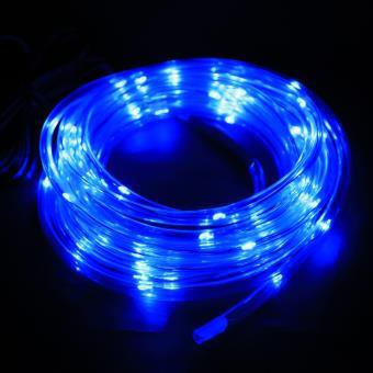 291d733764a LED lumière multicolore solaire - 7M - 50PCS - Corde lumière pour extérieur  - Fête -