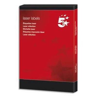 Boîte de 200 étiquettes laser blanc, Format 199,6 x 143,5 mm