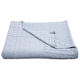 babys only couverture lit 1 place cable uni gris 140 x 200 cm gris couvertures edredons couettes achat prix fnac - Couverture Lit