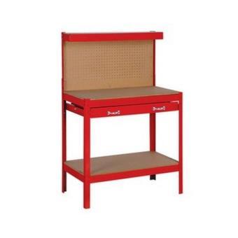etabli atelier bricolage table travail outils metal pour outils rangement de l 39 atelier achat. Black Bedroom Furniture Sets. Home Design Ideas