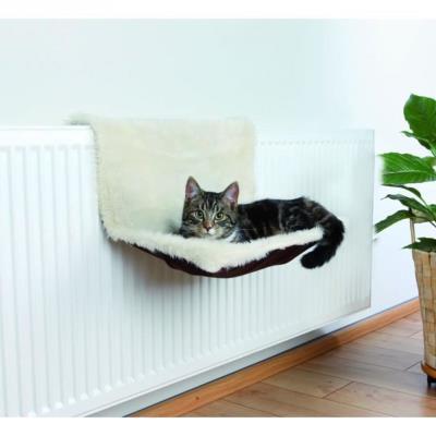 Trixie lit radiateur, peluche/suédine pour chat