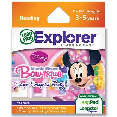 LeapFrog – Explorer – Learning Game – Minnie Mouse Bow-tique – Edition Anglaise