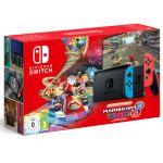 Pack Console Nintendo Switch Néon Rouge et Bleu + Code de téléchargement Jeu Mario Kart 8 Deluxe