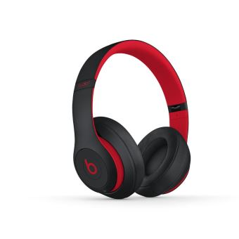 casque beats studio3 sans fil la collection d cennie de beats defiant noir rouge casque. Black Bedroom Furniture Sets. Home Design Ideas