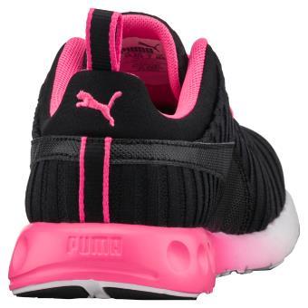 Chaussures de running Femme Puma Carson Linear Noires et Roses Taille 39