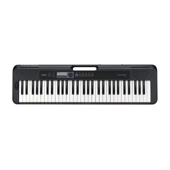 Clavier nomade Casio CT-S300 61 touches 400 sons Noir