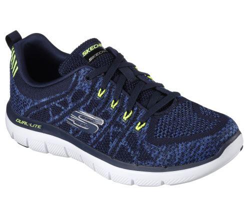 d67617af00126 Chaussures Skechers Flex Advantage 2.0 Talamo Bleues Taille 42 - Chaussures  ou chaussons de sport - Equipements sportifs