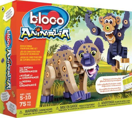Kit créatif Hyène et Chimpanzé Bloco