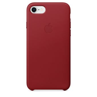 coque iphone 7 rouge metal