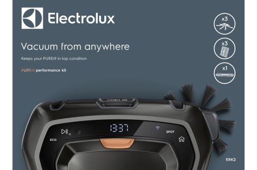 Kit complet pour aspirateur robot Electrolux Noir