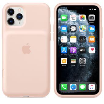 Coque avec batterie Apple pour IPhone 11 Pro Rose des sables