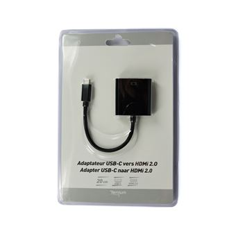 Adaptateur Temium USB-C vers HDMI 4K