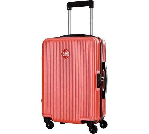 Valise cabine rigide Bag Stone Corail Goldy 4 roues 39 L