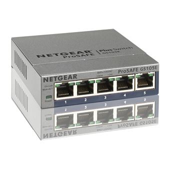 NETGEAR GS105E GIGABIT SWITCH