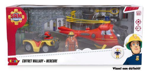 Playset Smoby Sam le Pompier Océan et Quad