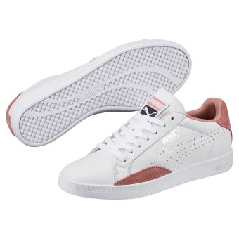5e718a06eb2 Chaussures Femme Puma Match Lo Classic Blanches et roses Taille 36 ...