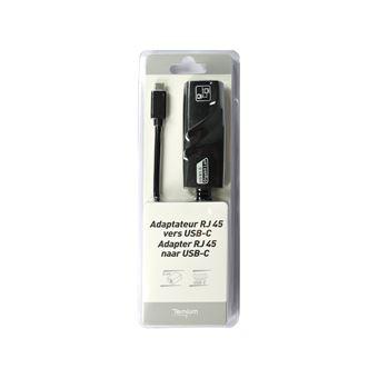 Adaptateur Temium USB-C vers Ethernet RJ45