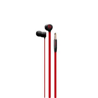 UrBeats 3 Defiant Earphones Black/Red