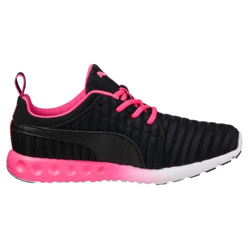 Chaussures de running Femme Puma Carson Linear Noires et Roses Taille 38