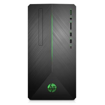 HP Pavilion Gaming 690-0049nf - MT - 1 x Core i5 8400 / 2.8 GHz - RAM 8 GB - HDD 1 TB - GF GTX 1050 / UHD Graphics 630 - GigE - WLAN: 802.11a/b/g/n/ac, Bluetooth 4.2 - Win 10 Home 64 bits - monitor: geen - toetsenbord: Frans