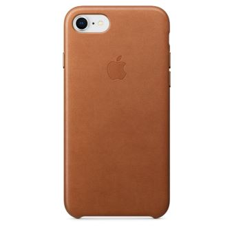 APPLE IPHONE 8 / 7 LEATHER CASE SADDLE BROWN