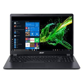 "Acer Aspire 3 A315-34-C0V3 - Celeron N4000 / 1.1 GHz - Win 10 Home 64 bits - 4 GB RAM - 1 TB HDD - 15.6"" TN 1366 x 768 (HD) - UHD Graphics 600 - Wi-Fi, Bluetooth - houtskoolzwart - tsb French"