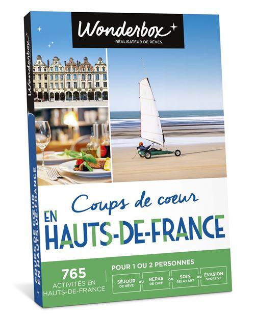 Coffret cadeau Wonderbox Coups de cœur en Hauts de France