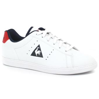 Le Gs 33 Chaussures Lea Taille Courtone Enfant Blanches Coq Sportif S fby76g