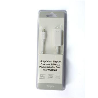 Adaptateur Temium DisplayPort vers HDMI 0.2 m