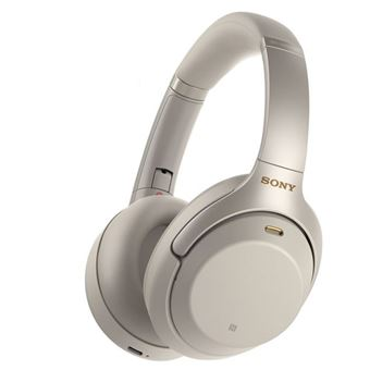 Casque Bluetooth à réduction de bruit Sony WH-1000XM3 Argent