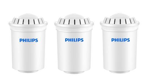Pack de 3 cartouches filtrantes Philips pour carafe