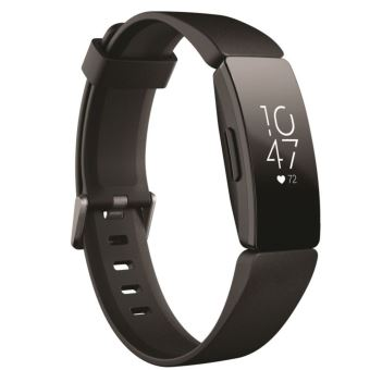 Fitbit Inspire HR Verbonden Armband Zwart