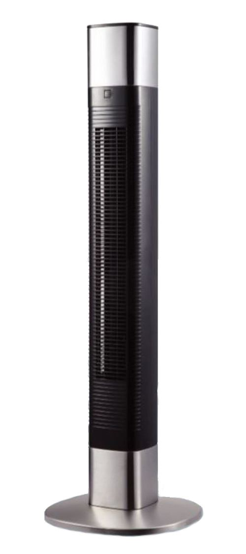 Ventilateur colonne Aerian AFT50 50 W Noir et Argent