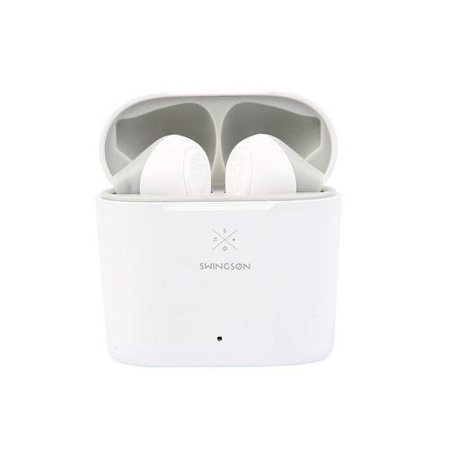 Ecouteurs sans fil True Wireless Swingson Buds Blanc