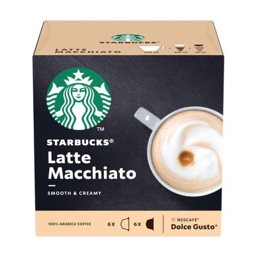 Pack de 12 capsules Dolce Gusto Starbucks Nescafé Latte Macchiato