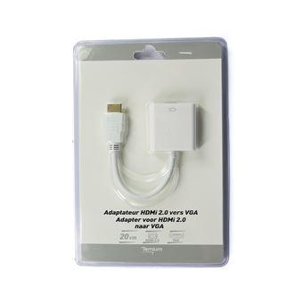 Adaptateur Temium HDMI vers VGA 0.2 m