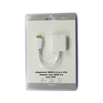 TEMIUM ADAPTER HDMI/VGA 0,2M
