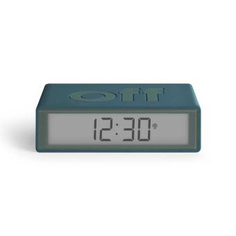 Radio réveil LCD Lexon Flip+ LR150 Bleu canard