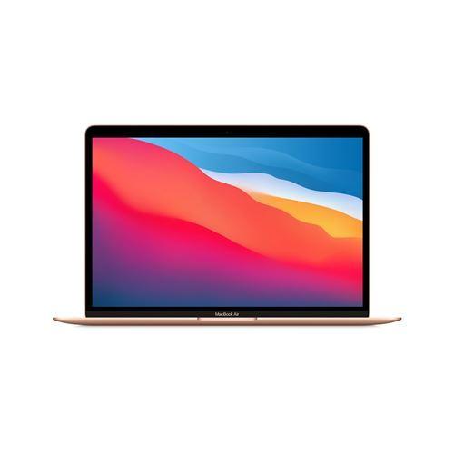 """Apple MacBook Air 13"""" 256 Go SSD 16 Go RAM Puce M1 Or Nouveau"""