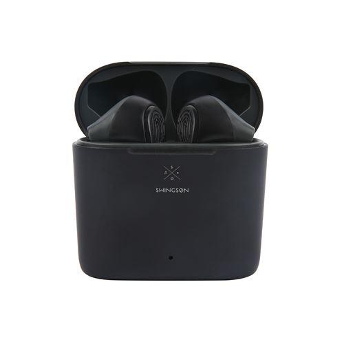 Ecouteurs sans fil True Wireless Swingson Buds Noir