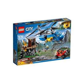 LEGO 60173 BERGARRESTATIE ARRESTATION DANS LA MONTAGNE