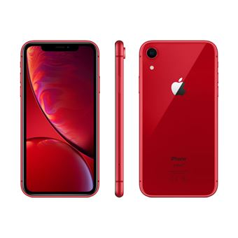 """Apple iPhone XR 256 Go 6,1"""" Rouge"""