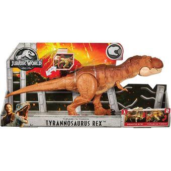 Jurassic World Hap en Stamp Tyrannosaurus Rex - Speelgoeddino