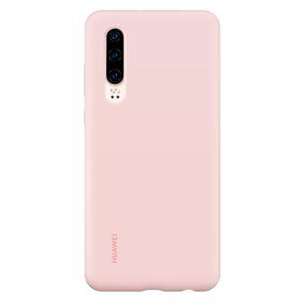 Coque rigide en silicone Huawei Rose pour P30