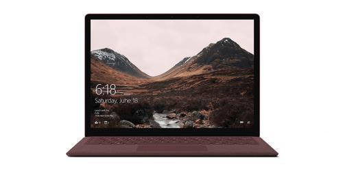 PC Ultra-Portable Microsoft Surface Laptop 13.5 Tactile Intel Core i5 8 Go RAM 256 Go Bordeaux
