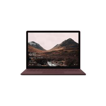 "PC Ultra-Portable Microsoft Surface Laptop 13.5"" Tactile Bordeaux"