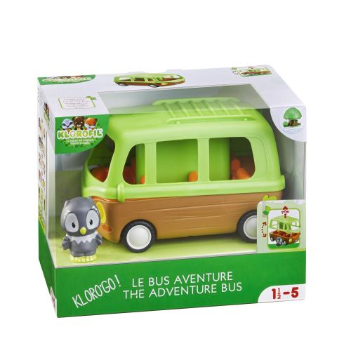 Playset Klorofil Le Bus Aventure
