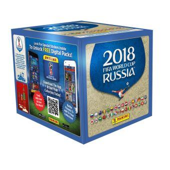 Bo te de 50 pochettes de 5 stickers foot coupe du monde - Jeu de foot coupe du monde ...