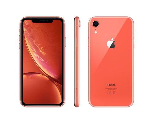 Apple iPhone XR 128 Go 6,1 Corail