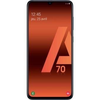 Smartphone Samsung Galaxy A70 Double Sim 128 Go Noir Smartphone Achat Prix Fnac
